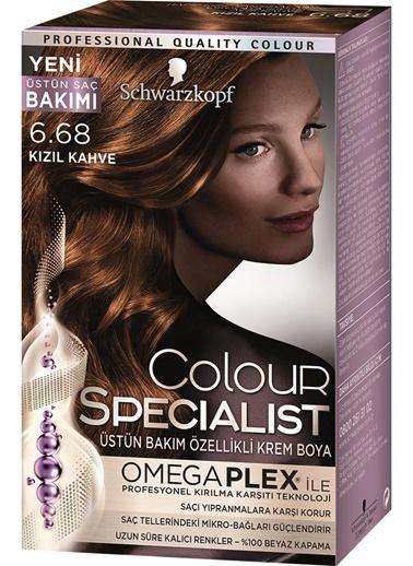 Luxy Bio  6.68 Kızıl Kahve Saç Boyası Kahve